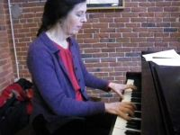 [image]Allison on piano